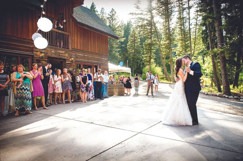 First Dance on the patio