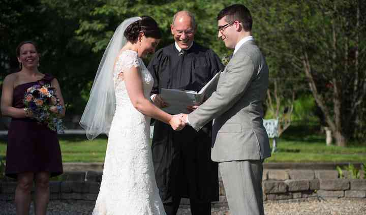 N H Wedding Minister, David Tomkinson