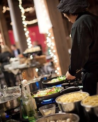 Chef Christopher's Catering Pasta Station