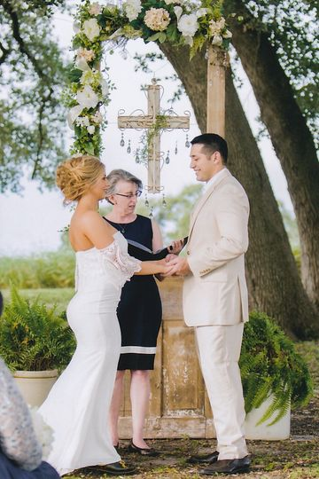 Exchanging vows
