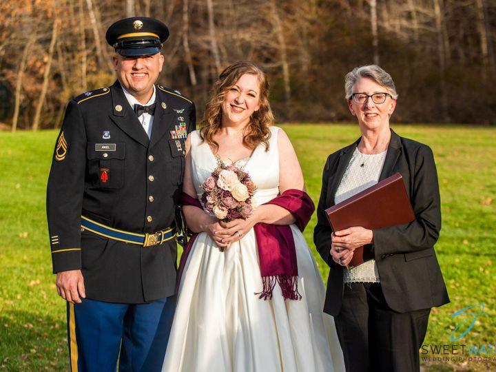 Tmx Ron Amanda With Officiant 51 988134 161616780555000 Laconia, New Hampshire wedding officiant