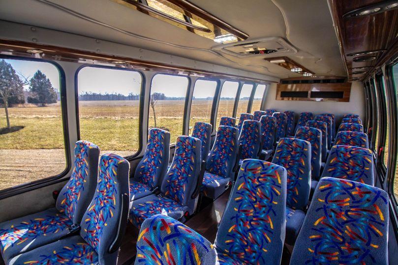 29 and 33 seat interior