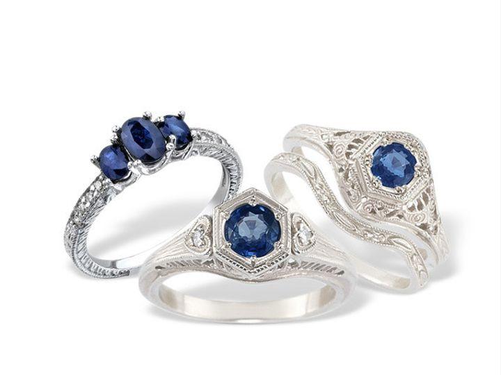 Tmx 1371662431899 Sapphireset1 Altadena wedding jewelry