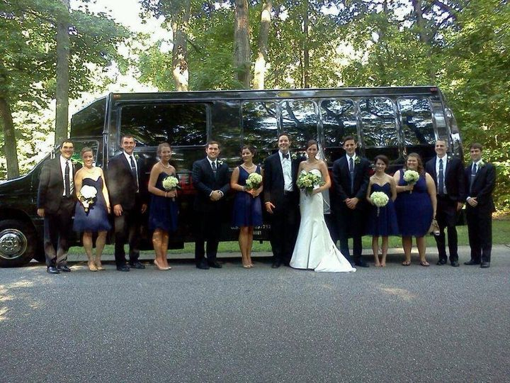 Tmx 1435261621165 Wedding Dark Blue Titan Virginia Beach wedding transportation
