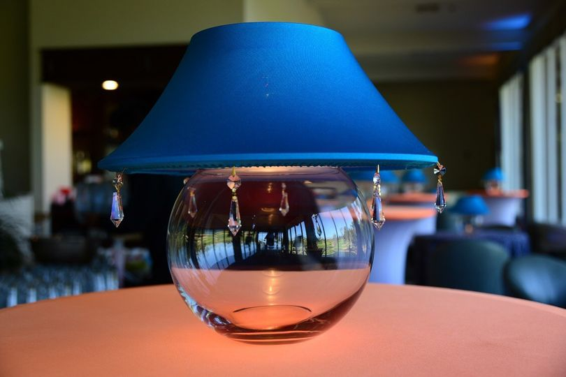 Lamp shades bubble bowl