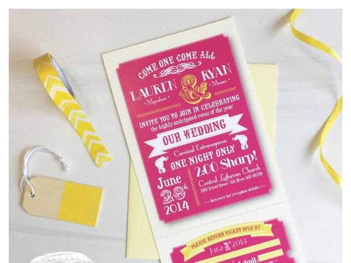 Tmx 1460141706702 Invitationcircusgram 01 Zimmerman wedding invitation