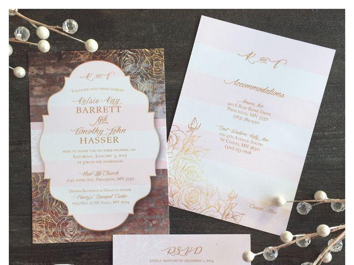 Tmx 1460142437148 Invitationkelsietimgramnew 01 Zimmerman wedding invitation
