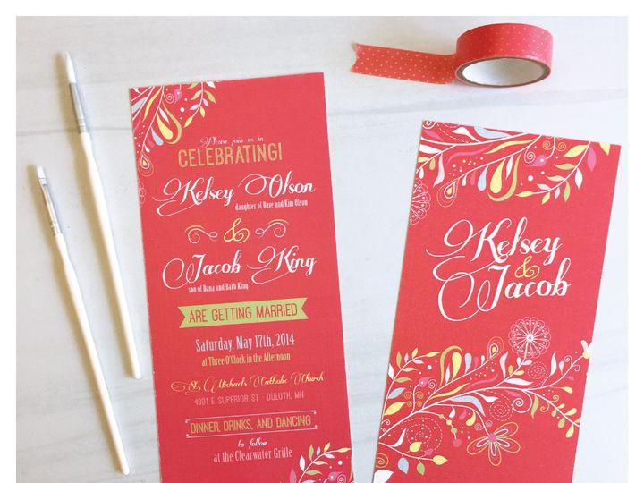 Tmx 1463503279127 Invitationkelseyjakeinvitegram 01 Zimmerman wedding invitation