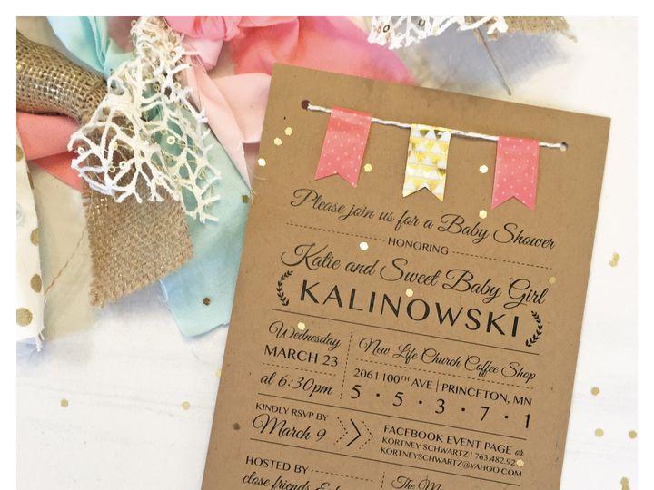 Tmx 1463504838282 Invitationkatiebabyshowergram 01 Zimmerman wedding invitation