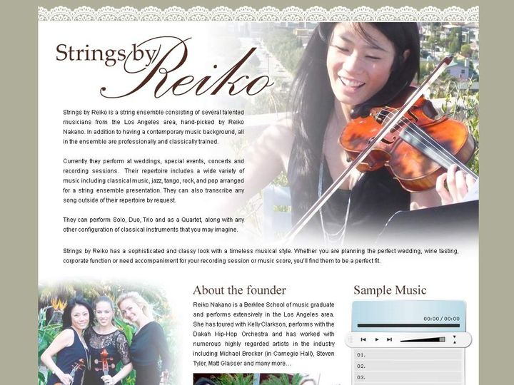 Tmx 1422332085075 Stringsbyreiko1 Los Angeles wedding ceremonymusic
