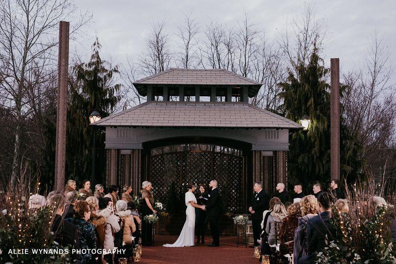 Exterior ceremony