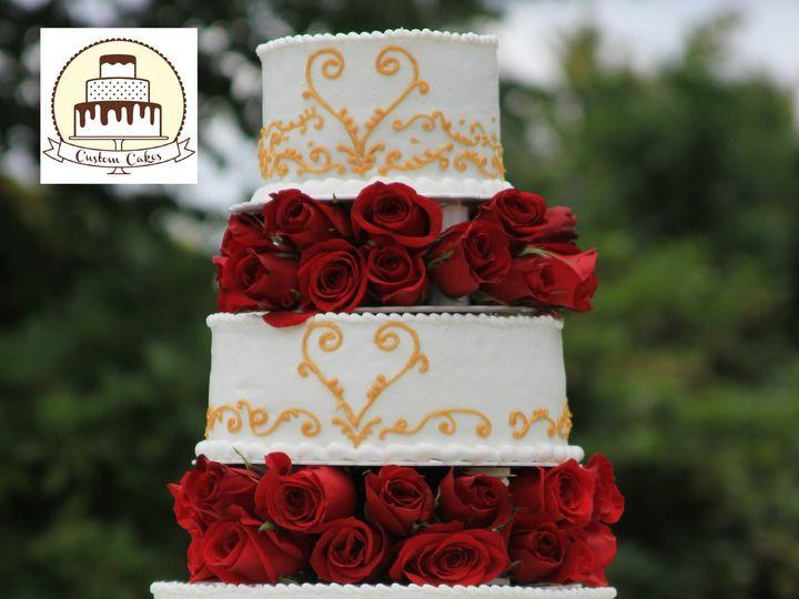 Tmx 1454984723213 Img3400 Newberg wedding cake