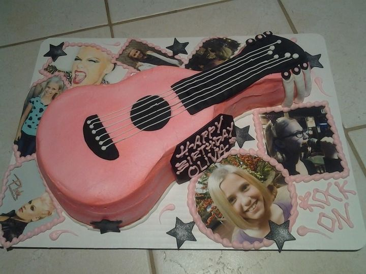 Tmx 1501528927902 Guitar 2 Newberg wedding cake
