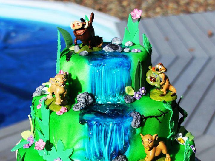 Tmx 1501528984984 Img7342 Newberg wedding cake