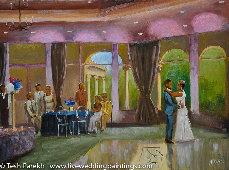 Pinehurst Oil painting