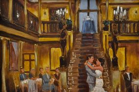 Tesh's LIVE Wedding And Event Paintings