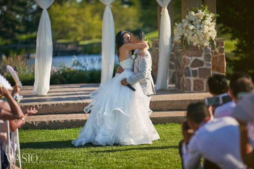 Ceremony Location / We offer indoor and Outdoor Ceremony location 175 White Resin Chairs included in...