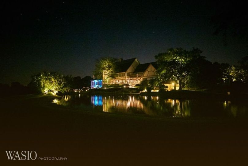 Club house at Night