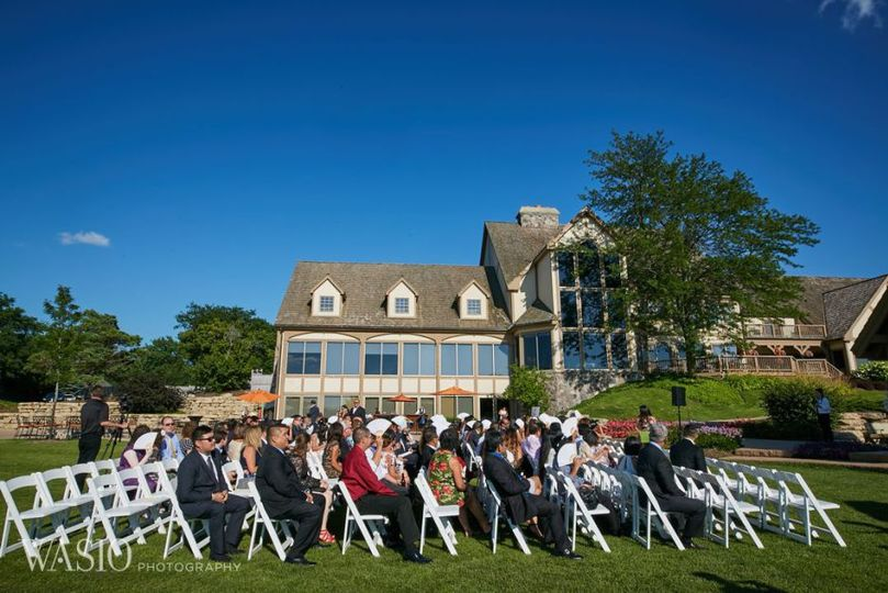 bull valley golf club chicago wedding outdoor ceremony 51 45234 160079320390013