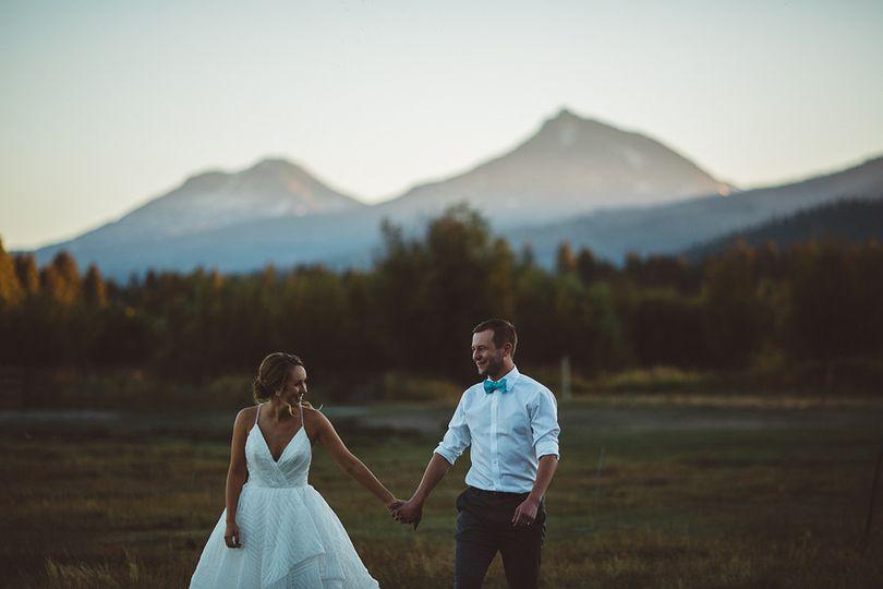 black butte ranch wedding photos 10