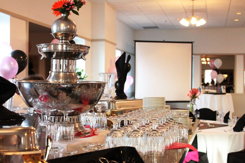 Bridal Shower in the Grandview Party Room at Ben Lomond Suites Historic Hotel in Ogden