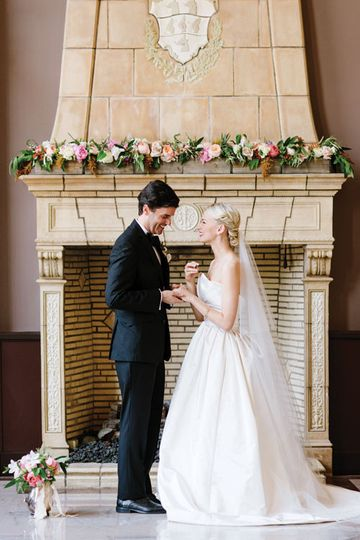 Wedding Ceremonies in the Sunlit Room at Ben Lomond Suites Historic Hotel in Ogden, Utah