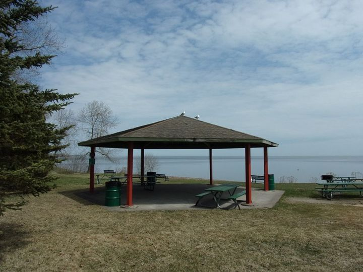 Overlooking Lake Superior