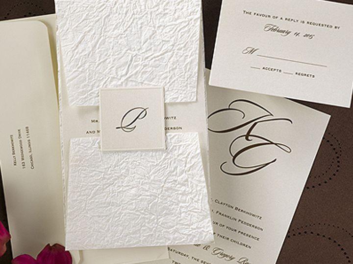 Tmx 1512417544951 Carlson Craft Wedding Invitations To Inspire You O State College wedding invitation
