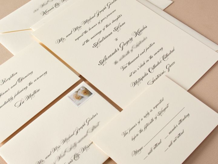 Tmx 1512417553093 Crane Weddingandriana And Alexander State College wedding invitation