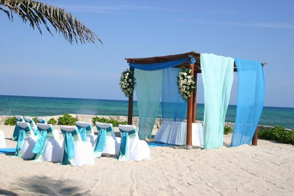 Beach Wedding at El Dorado Royale by Karisma. Planning and booking services available through All...