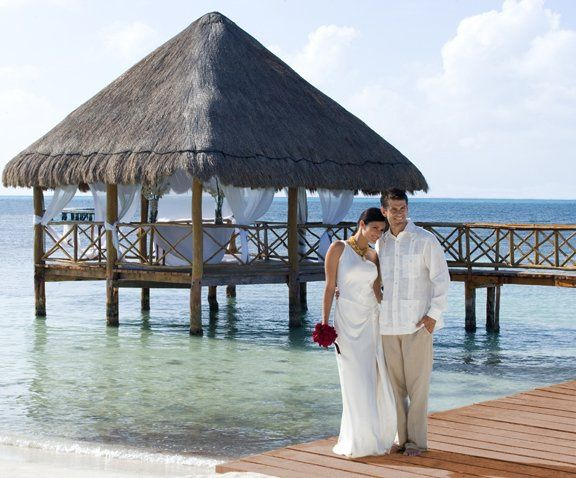 Isla Mujeres Palace wedding packages available in Mexico. Planning and booking services available...