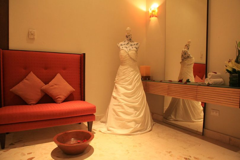 Azul Sensatori Bridal Spa Suite. Planning and booking services available through All Inclusive...