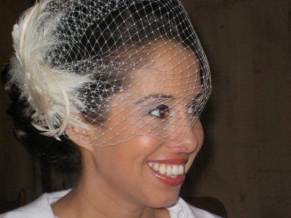 Tmx 1289530475664 Desireawithbirdcageveil2 Little Falls, NJ wedding beauty