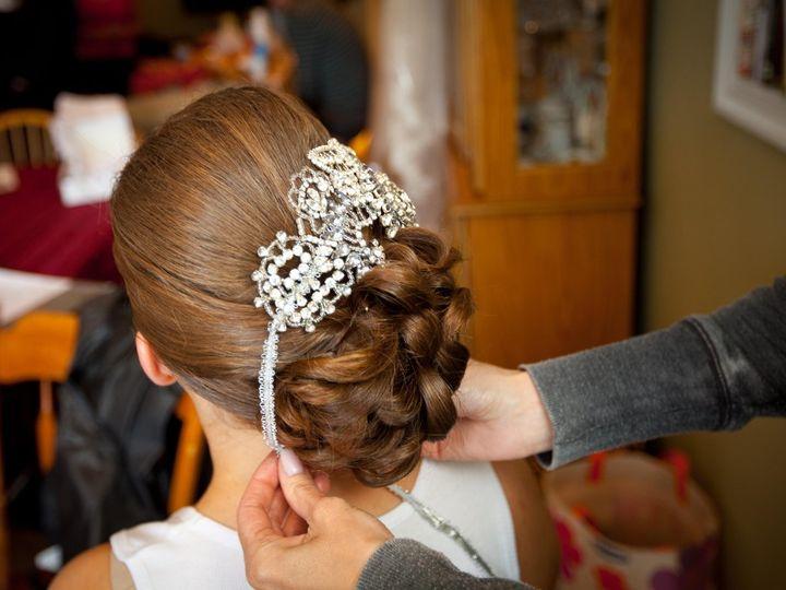 Tmx 1338867969803 KathyLopesBridalTrialandWeddingDay2Copy Caldwell, NJ wedding beauty