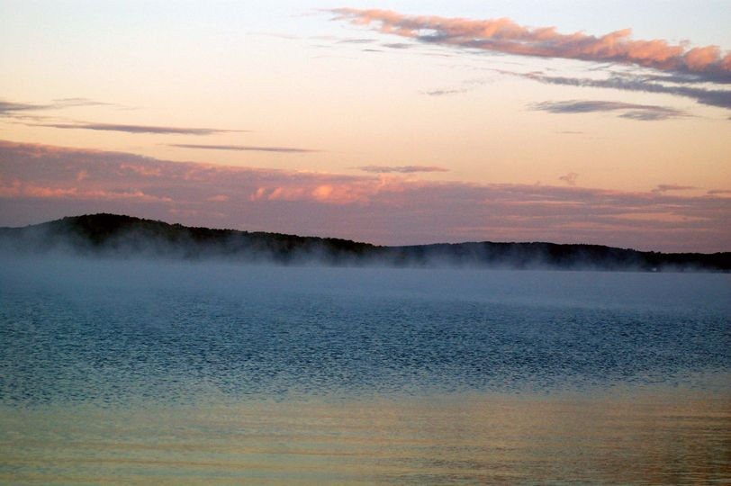 Nearby Walloon Lake on a July morning