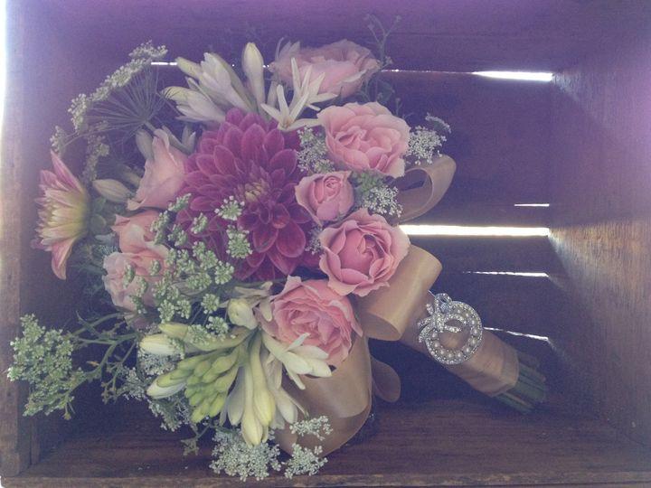 Tmx 1447873413885 Pinkvintagebouquet Winston Salem, NC wedding florist