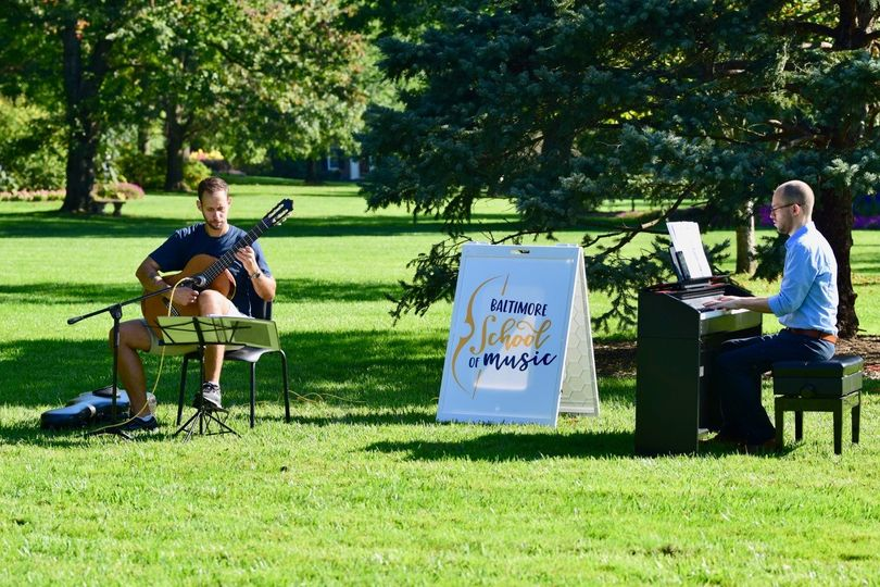 Music in Sherwood Gardens