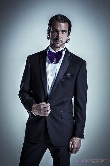 model clement saoudi wearing portofilo tuxedo top
