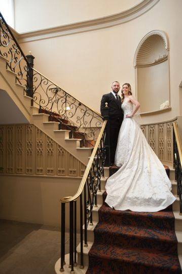 The steps to the wedding