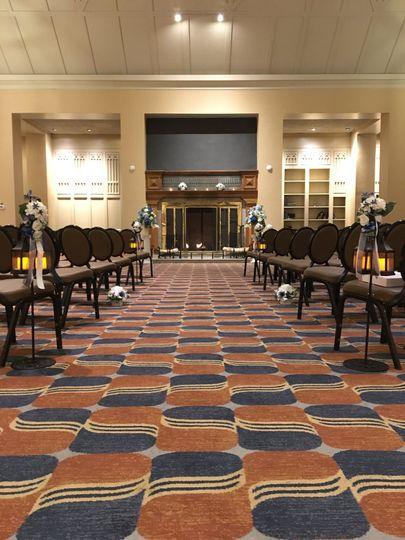 Carpet hallways