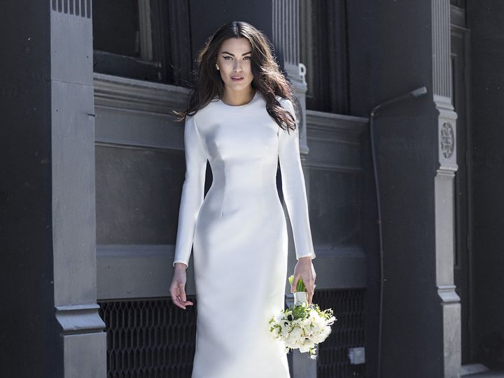 Tmx 1496849720373 Bella   Modified Brooklyn wedding dress