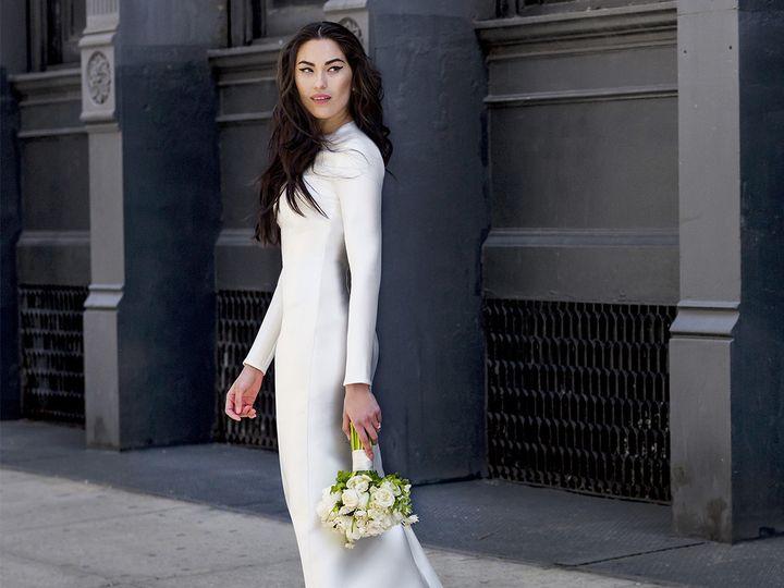 Tmx 1496849751752 Bella Side   Modified Brooklyn wedding dress