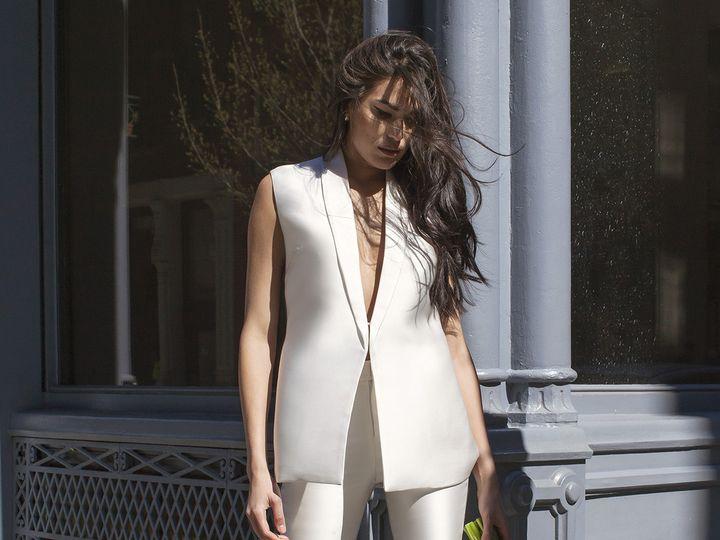 Tmx 1496849771667 Carmen  Julia Close Up   Modified Brooklyn wedding dress