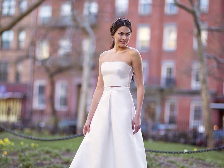 Tmx 1496849791851 Eileen  Amalia   Modified Brooklyn wedding dress