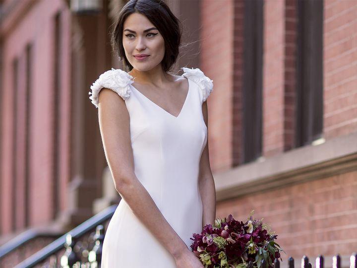 Tmx 1496849855727 Jane Close Up   Modified Brooklyn wedding dress