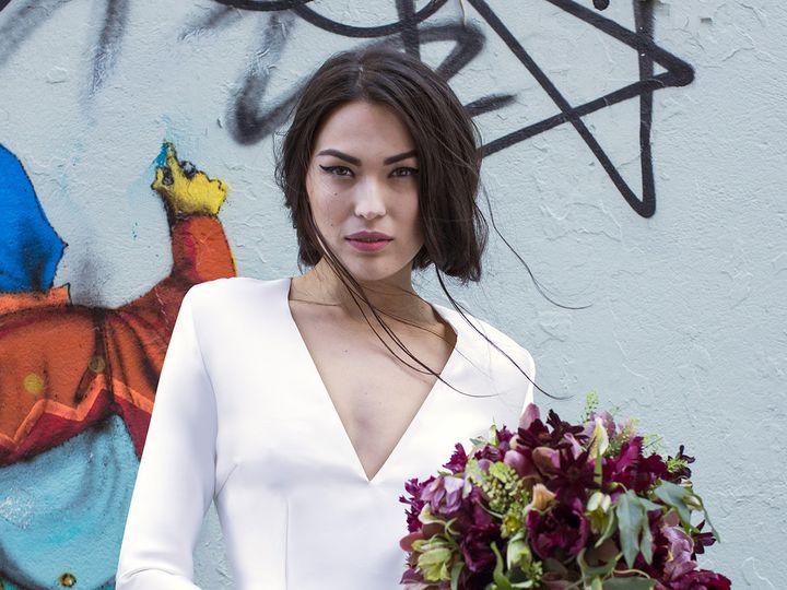 Tmx 1496849879071 Kayla Close Up   Modified Brooklyn wedding dress