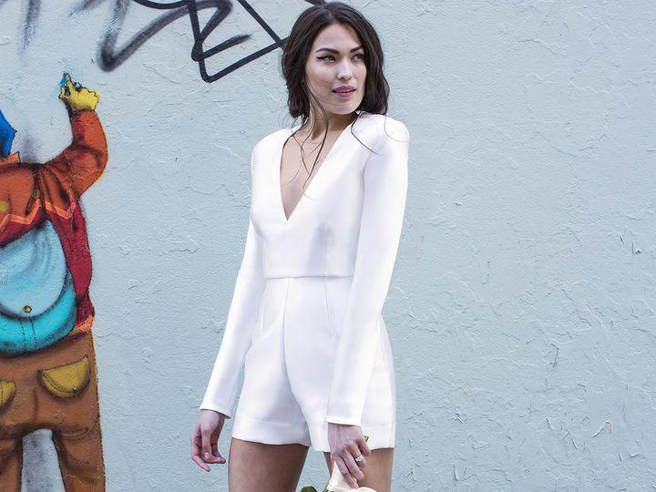 Tmx 1496849888741 Kayla Front   Modified Brooklyn wedding dress