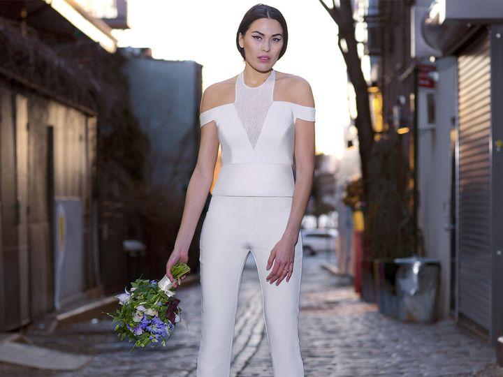 Tmx 1496849932251 Laura  Julia   Modified Brooklyn wedding dress