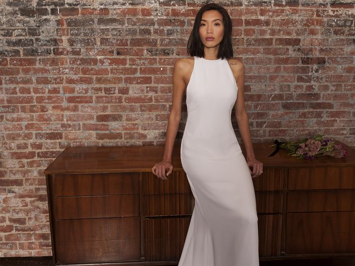 Tmx 1497636633833 Catalina Resized Brooklyn wedding dress