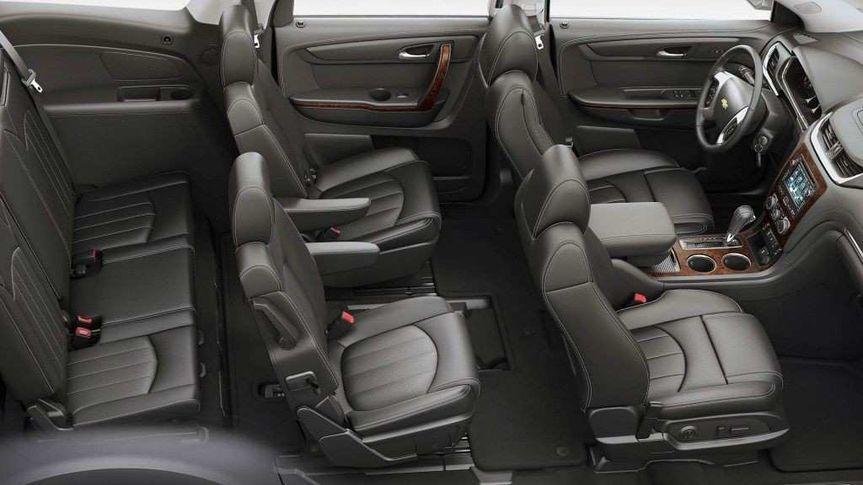 Luxury SUV Interior